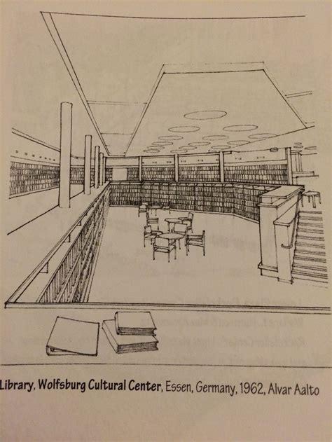 alvar aalto wolfsburg cultural centre library 1962 essen germany alvar aalto