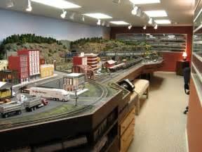 Model Train Layout Room