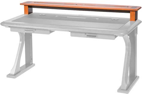 premium wood desktop riser shelf caretta workspace