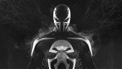 Venom Punisher Superheroes 4k Artwork