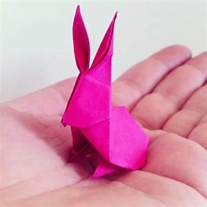 Osterdeko Basteln Aus Papier : origami hase falten anleitung und inspirierende osterdeko ideen ~ Whattoseeinmadrid.com Haus und Dekorationen