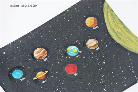 easy solar system craft  kids  crafting chicks
