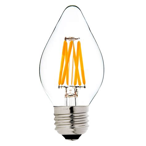 decorative light bulbs for chandeliers f15 led filament bulb 40 watt equivalent led chandelier