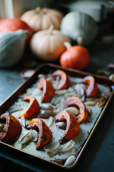 simple recipe  roasted red kuri squash  daily