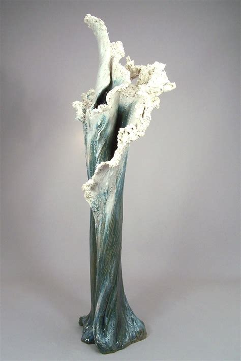 Ceramic Sculpture of a Wave by Denise Romecki : Seaside ...