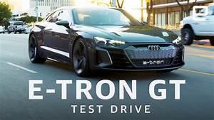 Audi E Tron Gt : audi e tron gt test drive youtube ~ Medecine-chirurgie-esthetiques.com Avis de Voitures