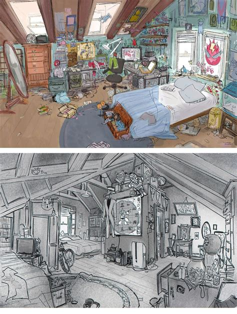 disney concept art sketches images  pinterest