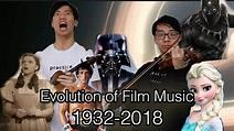 Evolution of Film Music (1932-2018) - YouTube