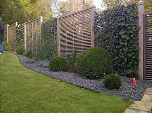 Garten Sichtschutz Holz : sichtschutzzaun aus holz und metall ~ Whattoseeinmadrid.com Haus und Dekorationen