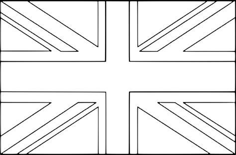 coloriage drapeau royaume uni  imprimer