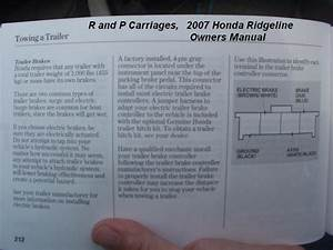 Honda Ridgeline Truck Brake Controller Installation