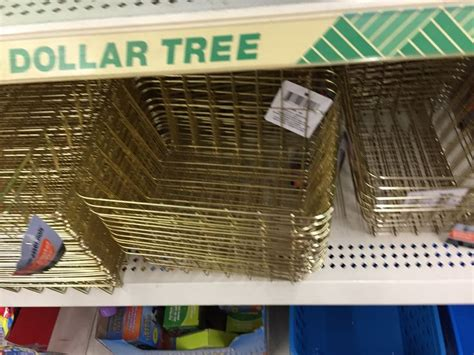dollar tree   wire baskets large square small oblong  dollar tree
