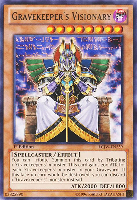 yugioh gravekeeper deck 2006 gravekeeper s visionary yu gi oh it s time to duel