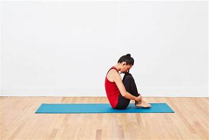 Rolling Exercises Pilates Ball Mat Workout Into