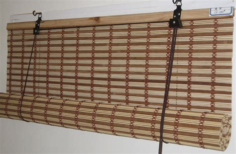 unique l shades outdoor bamboo roll up shades home depot brown rectangle