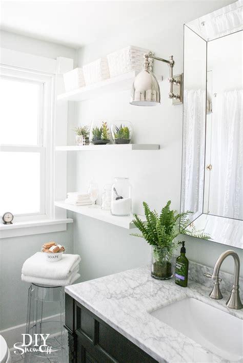farmhouse powder room 12 inspiring bathroom makeovers house by hoff