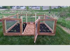 How To Build A Garden Fence Small Garden Fencing Ideas How