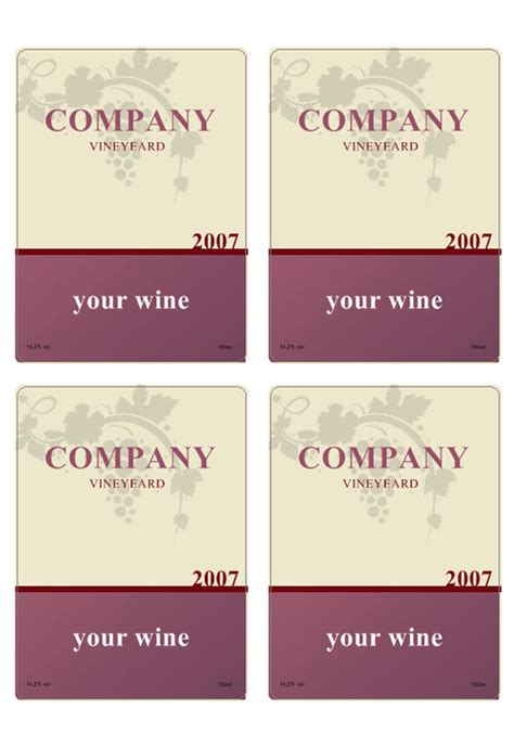 wine label labeljoy labels printing software