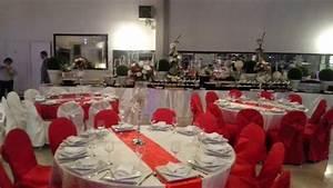 l39alhambra salle de reception mariage soiree blanc With deco chambre rouge et blanc