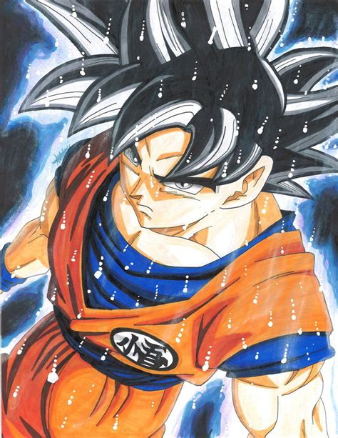 Gohan Super Saiyan 2 Wallpaper Son Goku Migatte No Gokui By Thehoodieartist738 On Deviantart