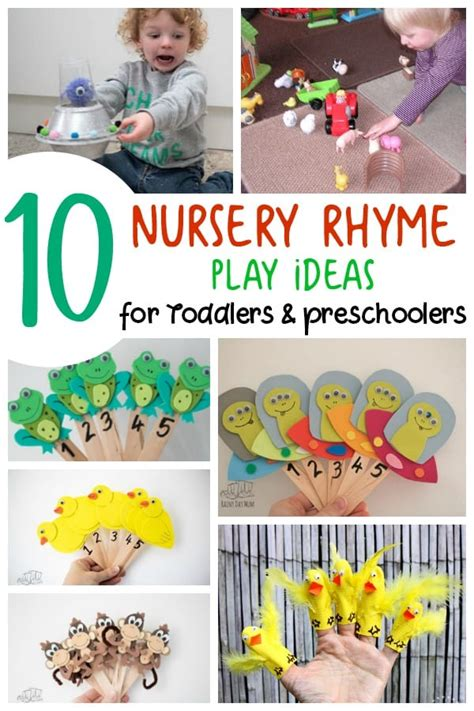 10 nursery rhymes activities and play ideas for toddlers 521 | 10 nursery rhyme play ideas for toddlers and preschoolers to do with you