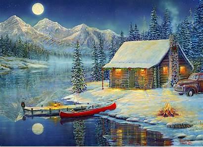 Cozy Christmas Jigsaw Puzzle Puzzles Timm Sam