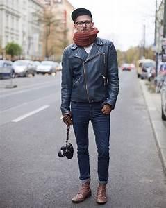 Veste En Daim Homme : blouson perfecto homme l 39 enfant terrible de la mode ~ Nature-et-papiers.com Idées de Décoration