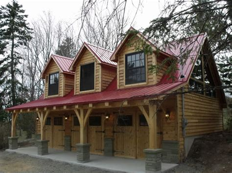 a frame house plans with garage lovely timber frame garage plans 7 timber frame carriage