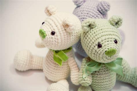 crochet teddy photo piret pakler