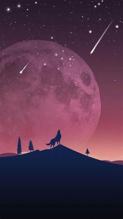 Wolf Galaxy Unicorn Wallpapers Geometric Backgrounds Wallpaperaccess