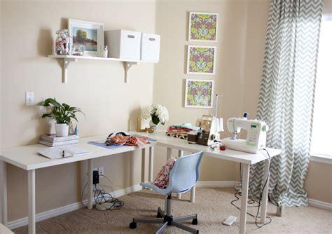 Sewing Room Ideas  The Seasoned Homemaker. Decorative Floor Mats. Decorative Crown Molding. Home Decor Trees. Wine Room Cooler