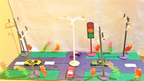 street light  traffic light craft ideas