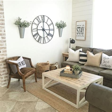 Living Room Decor Ideas Pictures by 45 Cool Modern Farmhouse Living Room Decor Ideas