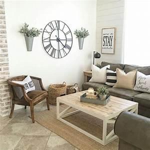 45+ Cool Modern Farmhouse Living Room Decor Ideas