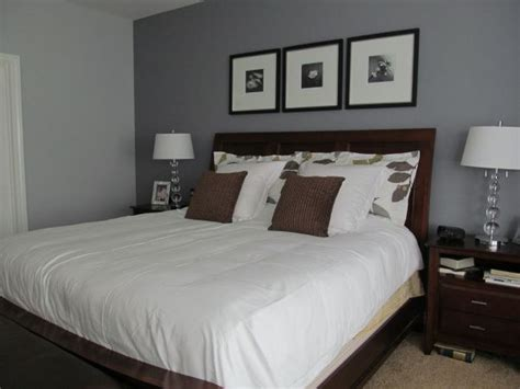 Brown And Gray Bedroom