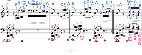 Today we shared the kalimba notes of the song hello from sohyang for you. Für Elise Sheet Music For Piano (Original / Letters / Finger Numbers) 【StarryWay】 | Sheet music ...
