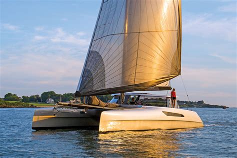 Catamaran Gunboat by Boat Review Gunboat 55 Sail Magazine