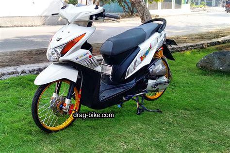Modif Sederhana Motor Supravit by 50 Foto Gambar Modifikasi Beat Kontes Racing Jari