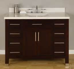 empire industries mo42dc 42 inch contemporary vanity with cabinet doors 8 soft closing drawer