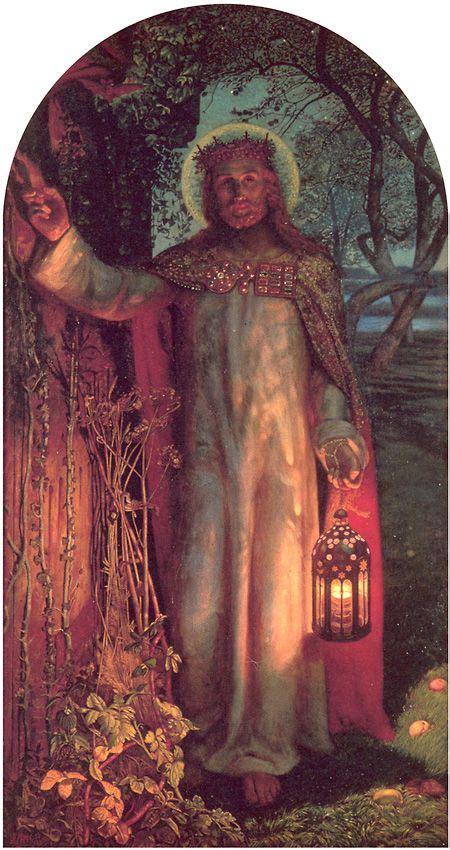 jesus knocking at the door painting light of the world ken s devotions