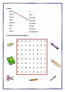 Classroom Instructions Worksheet