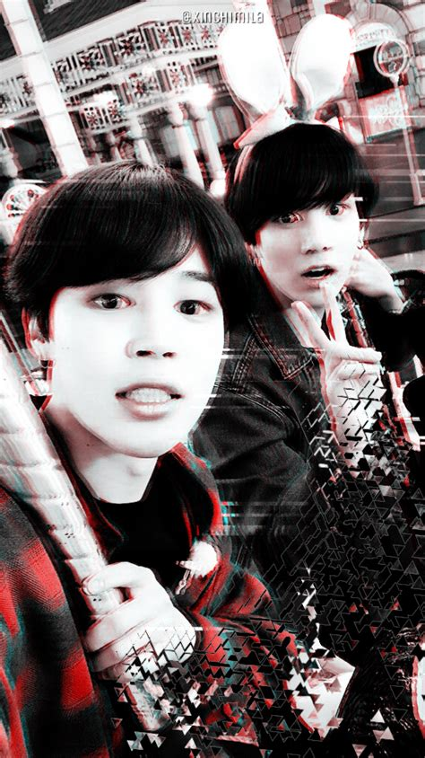 Bts wallpaperslockscreens because im bad at writing but im good at just pictures of jimin find images and videos about kpop bts and wallpaper on we heart it the app to get lost in what you love. BTS Wallpaper Lock Screen Park Jimin Jeon Jungkook Jikook Kookmin   Jikook, Fotos