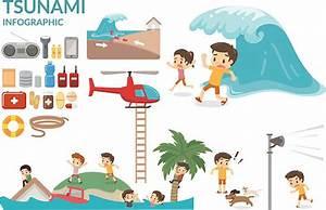 Best Tsunami Illustrations  Royalty