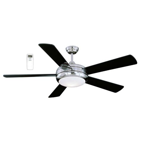 lowes ceiling fans with lights and remote shop litex 52 in satin chrome downrod mount indoor ceiling