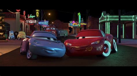 cars sally and lightning mcqueen sally carrera makes out with lightning mcqueen hd
