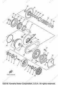 Yamaha Side By Side 2014 Oem Parts Diagram For Clutch