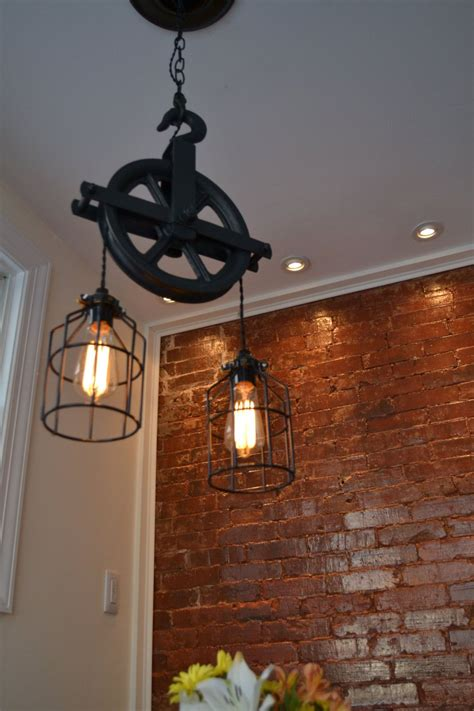 Kitchen Pulley by Design Your Pulleycolorrepurposed Barn Pulley By