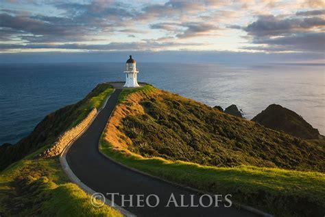 Light house at Cape Reinga   Theo Allofs Photography