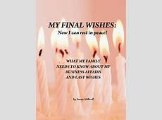 MY FINAL WISHES Book 150132 Bookemon