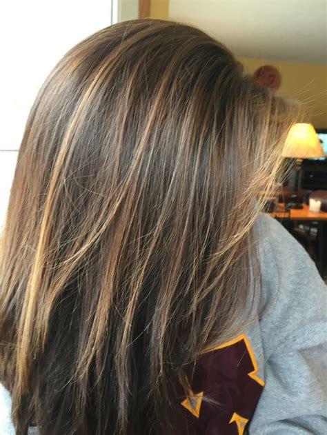 highlights  brunette hair summer highlights  dark